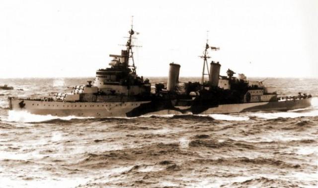 Крейсер «Эдинбург» и «золото Сталина»