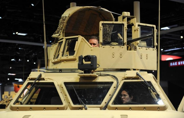 Выставка армии США.