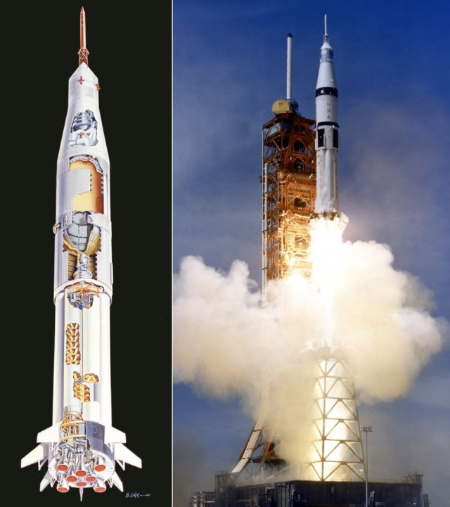 Такие похожие и такие разные «Союз» и «Аполлон»