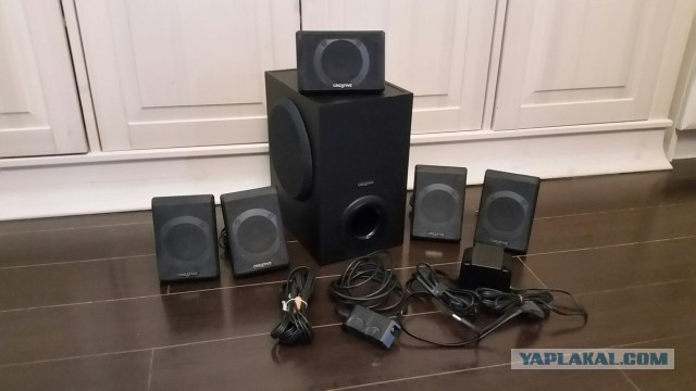Компьютерная акустика 5.1