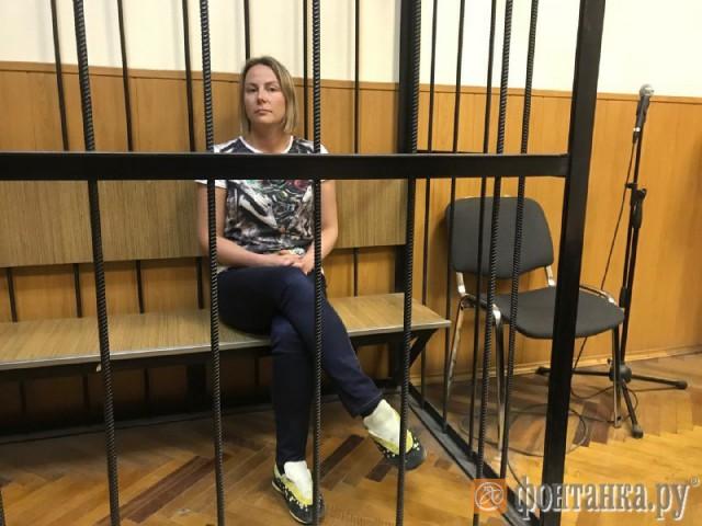 Дочь чиновника-миллиардера отправили под арест в Петербурге
