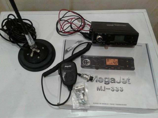 продаю СВ рациюMegajet MJ-333  +антенну
