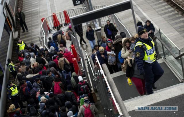 Шведская полиция потеряла контроль над Мальмё