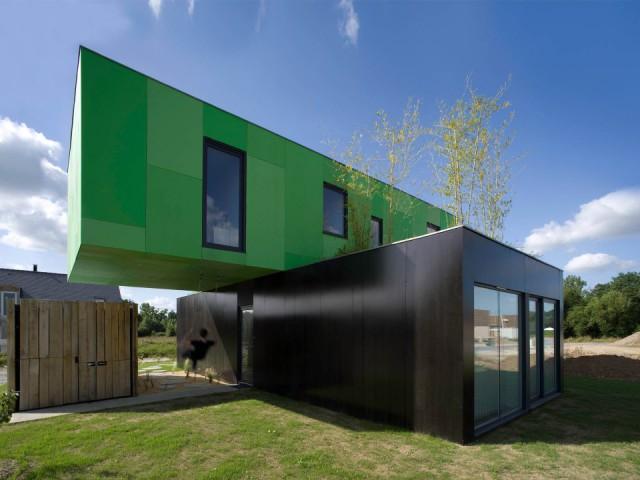 Тема навеяна дом из контейнера