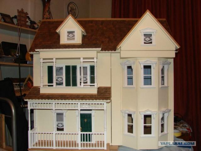 Сделать кукольный домик из фанеры своими руками