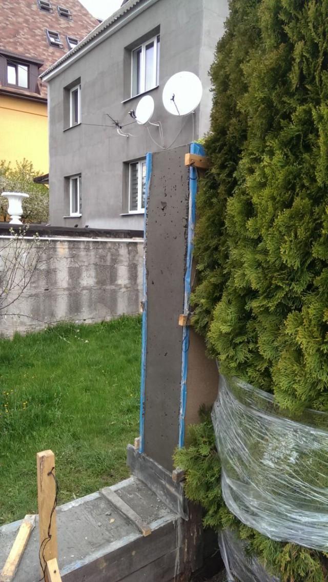 Забор. Как сделать что бы было красиво и из подручных материалов.