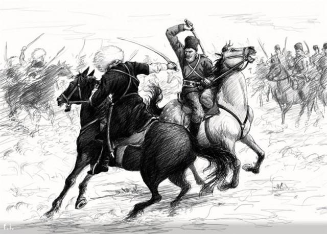 Калаусское сражение: героический эпизод Кавказской войны