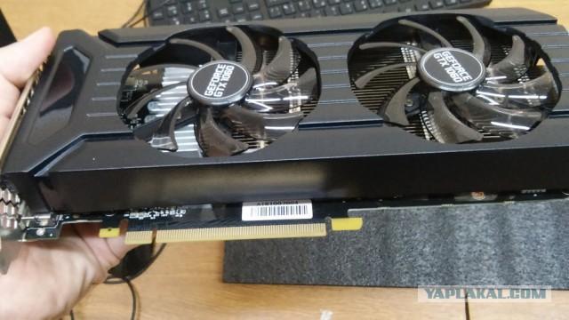 Palit GeForce GTX 1060 Dual 1506Mhz PCI-E 3.0 6144Mb 8000Mhz Москва