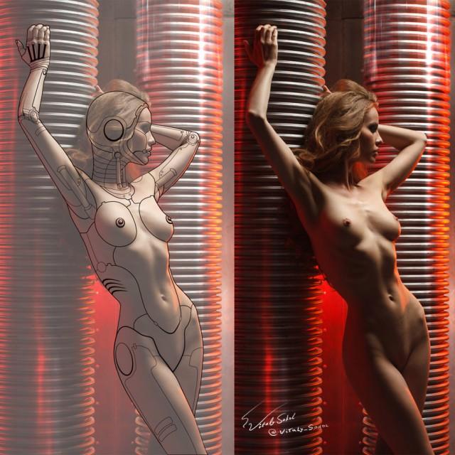 Секс-роботы на подходе. 18+