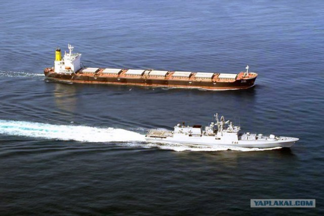 Пираты в Аденском заливе