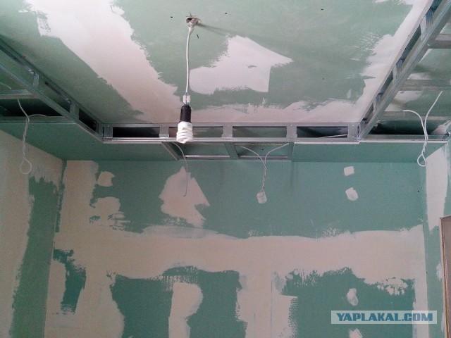 Точечные светильники на потолке своими руками