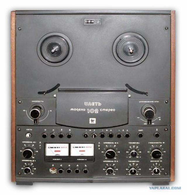 илеть 102-1 магнитофона стерео схема