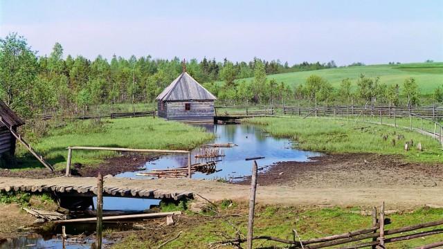 Место, где начинается Волга