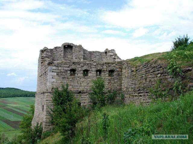 Крепость посёлка Сатанов