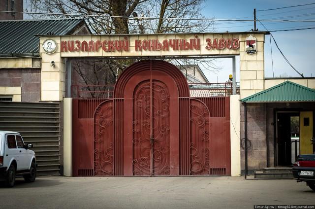 Как устроен Кизлярский коньячный завод