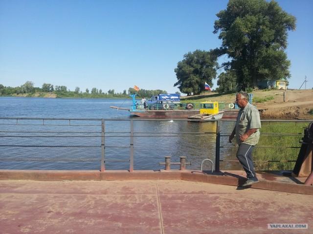 Река Ахтуба. Сентябрь. 2012г.