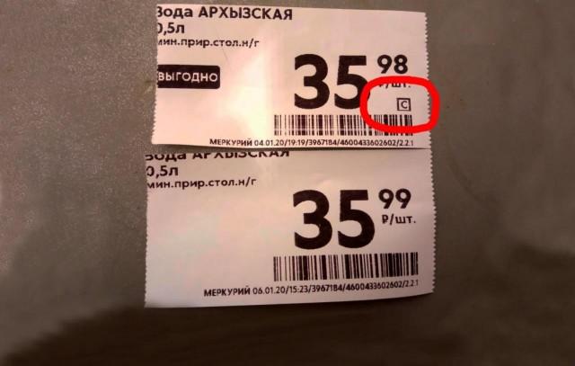 Тайные символы: как по маленьким значкам на ценниках Пятерочки определить минимальную цену товара