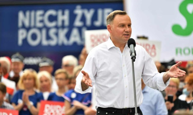 Президент Польши дал предвыборное обещание бороться с «идеологией ЛГБТ»