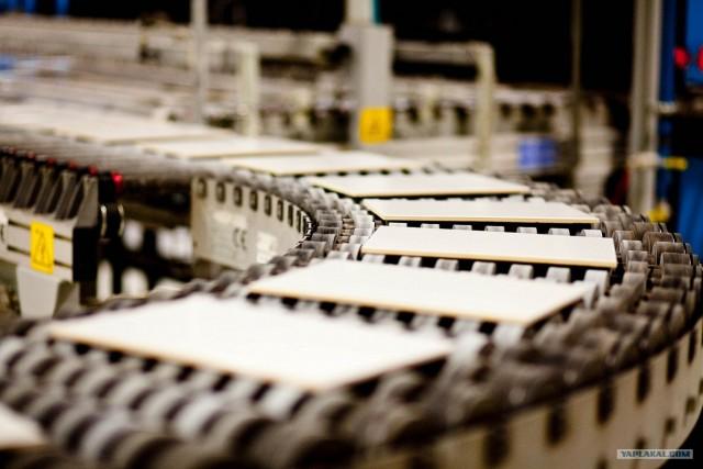 Как производится керамическая плитка