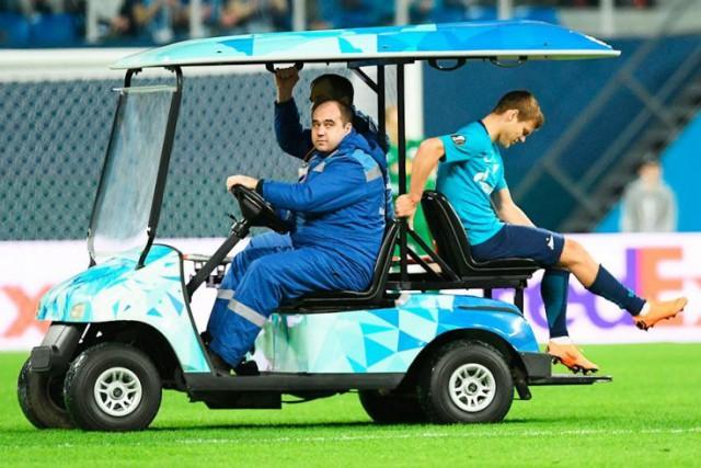 У Кокорина разрыв крестообразных связок колена, с высокой вероятностью пропустит чемпионат мира – 2018
