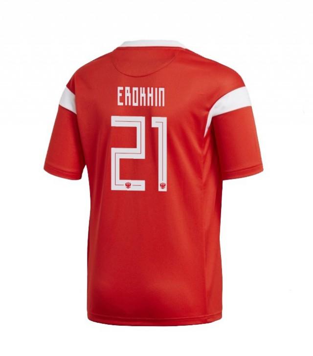 Шрифт на футболках ЧМ 2018
