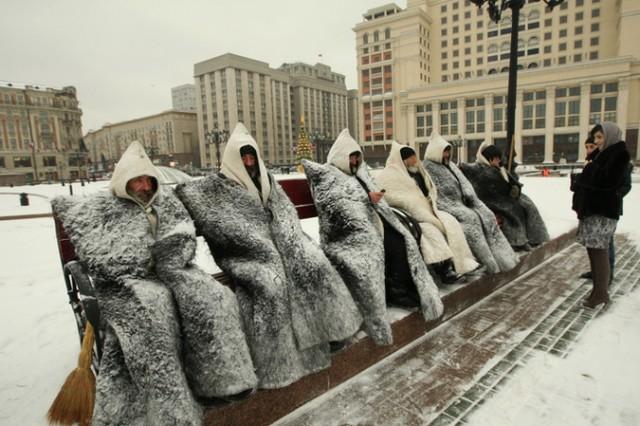 "Циклон ""Моника"": Москву замело и сбрызнуло"
