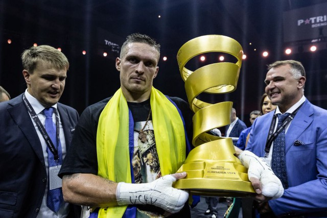 Усик отказался от звания Герой Украины