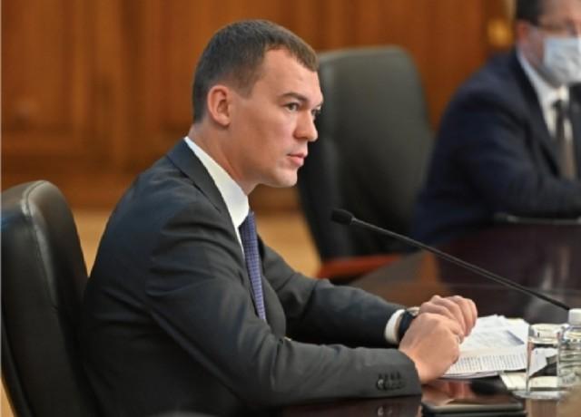 Глава Хабаровского края Дегтярев предложил поставить памятники Путину, «где только можно»