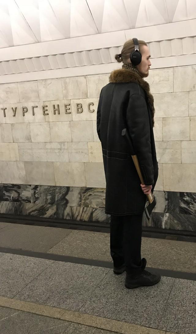 Странно, что не на Достоевской