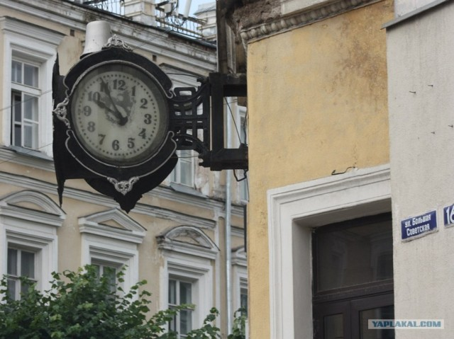 Часы в наших городах