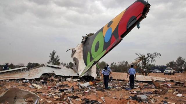 Авиакатастрофа в Триполи - выжил только ребенок