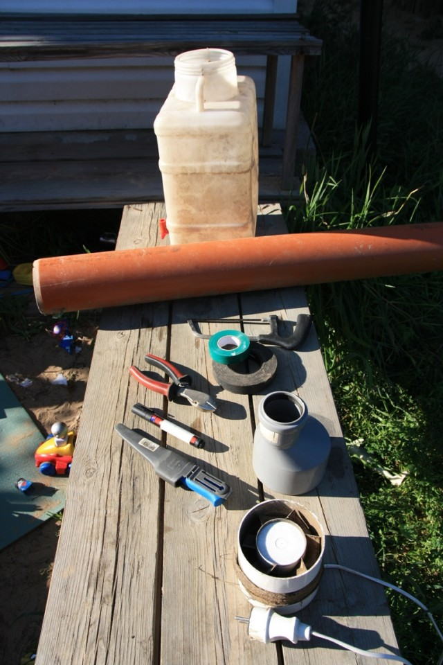 Воздушный фильтр для дома своими руками