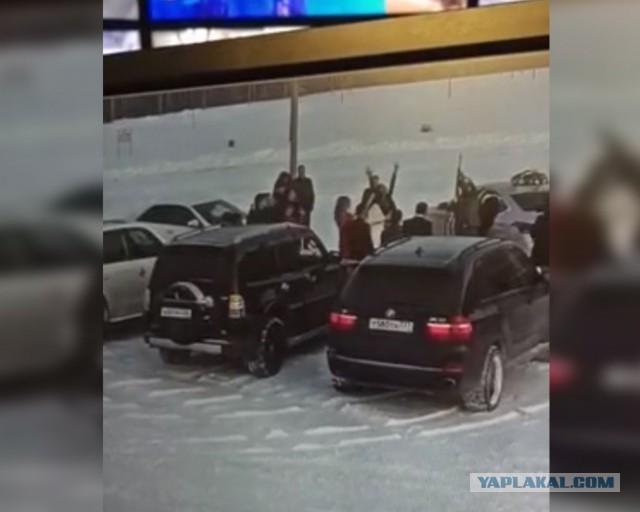 В Сургуте стреляли на свадьбе