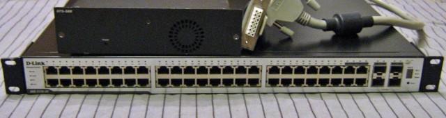 Продам D-Link DGS-3100-48+DPS-500