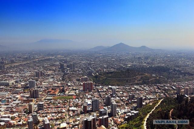 Южно-Американский дневник. Чили. сантьяго
