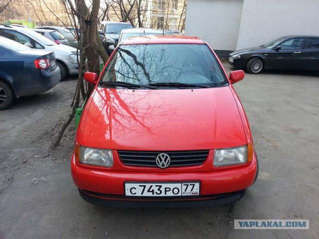 Продам VW Polo, АКПП, 1998 год