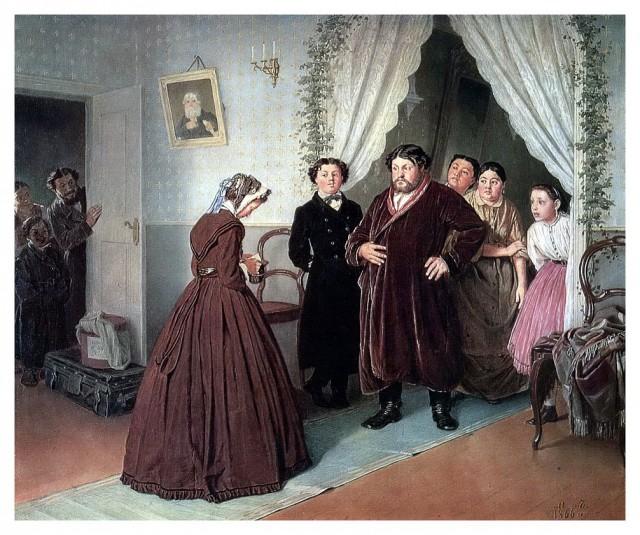 Сценки из русской жизни 19 века