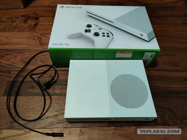Xbox ONE S 500GB белый, идеал сост. мало б\у Москва