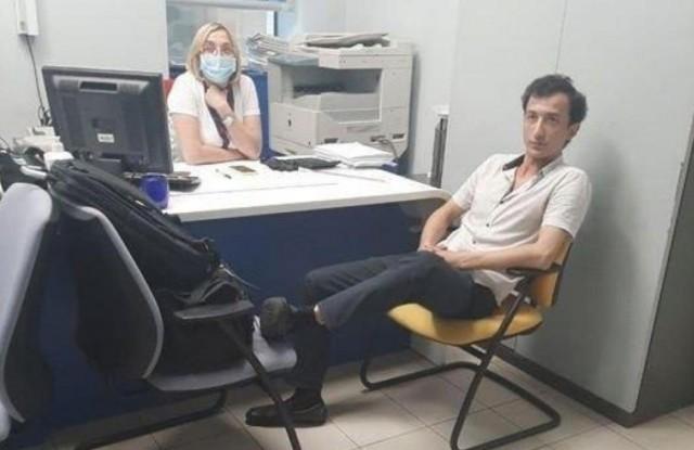 Мужчина угрожает взорвать бомбу в банке киевского бизнес-центра