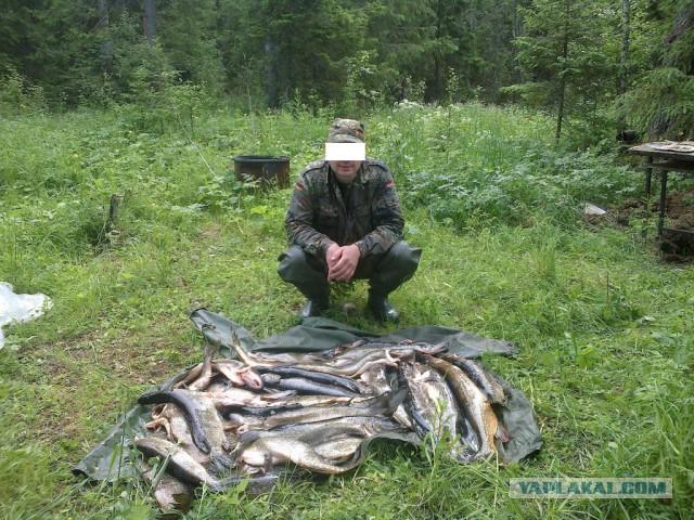 рыбалка во  самых глухих местах