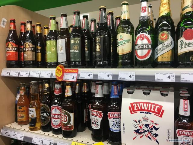 Цены в Польше на продукты