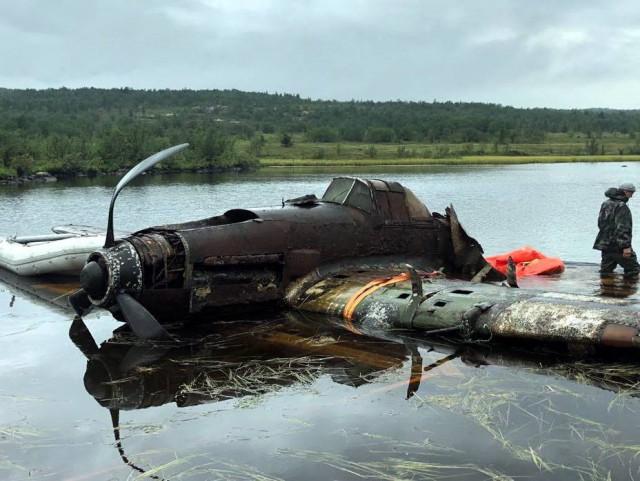 В России «выловили» штурмовик Ил-2