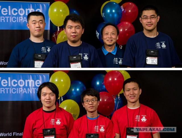 Чемпионат по программированию. Америка VS Китай