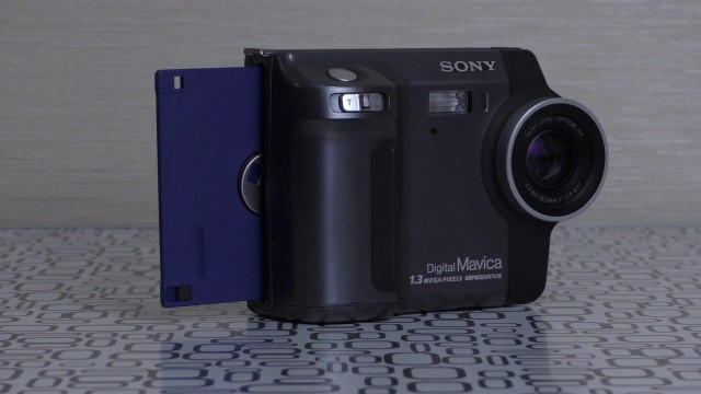 Фотоаппарат на дискетах