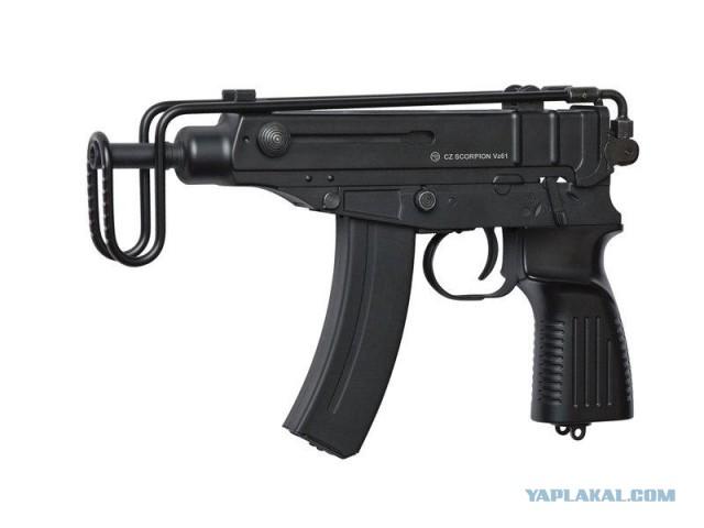 Пистолет-пулемет Skorpion Vz.61