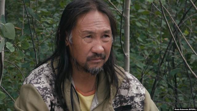 Якутский шаман Александр Габышев снова идет на Москву