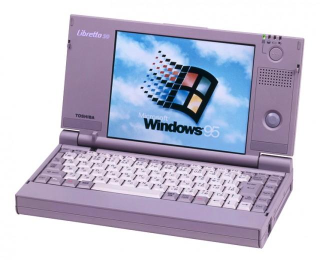 Какими были ноутбуки 20 лет назад на примере Toshiba libretto 100ct