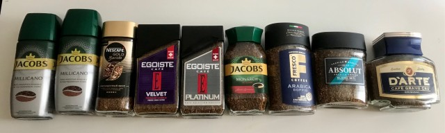 Дёшево продам коллекцию растворимого кофе