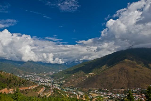 Королевство Бутан. Столица Тхимпху.