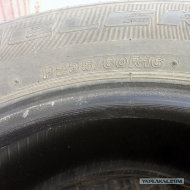 Bridgestone Dueler HP Sport 235/60R16